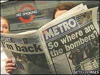 Subterr�neo de Londres.