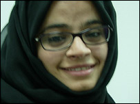 Maryam Abdullah Bin Bilaila, 19, student at Zayed University