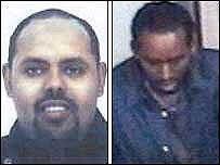 Dos de los sospechosos identificados