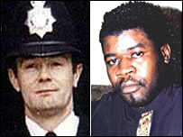 Pc Dunne and Mr Danso