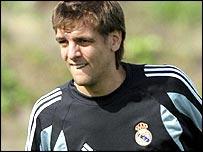 Real Madrid defender Jonathan Woodgate