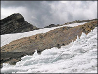 Glacier in Peru