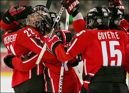 Canadian ice hockey team