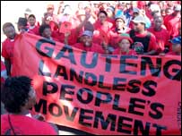 Landless people's march