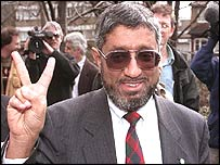 File photograph of Saudi dissident Muhammad al-Massari