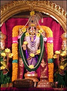 Temple deity