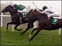 Proclamation (left) edges out Soviet Song at Goodwood
