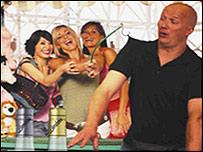 "Lambrini advert featuring ""balding"" man"