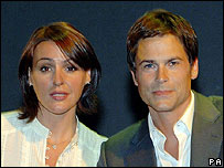 Suranne Jones and Rob Lowe