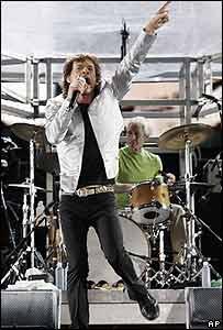 Mick Jagger en R�o de Janeiro
