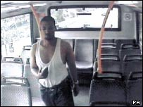 Suspect on Number 220 bus