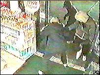 Armed robbers on CCTV