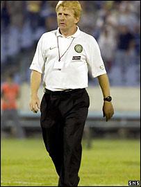 Strachan walks off in disbelief