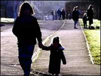 single parent and child in Scotland 2003