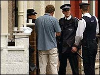 Police in Tooting