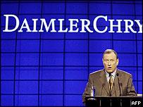 DaimlerChrysler's Juergen Schrempp