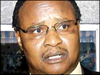 Kenya's transport minister, Chris Murungaru (Copyright: The Daily Nation)