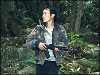 Chong-Cha Lee, a Hmong rebel in Laos