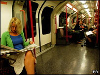 Image of the London Underground