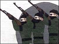 IRA wall mural