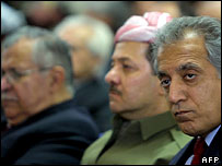 US Ambassador to Iraq Zalmay Khalilzad