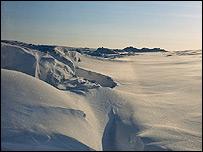 Arctic scene (BBC)