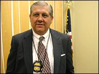 Jim Cavanaugh, from the Bureau of Alcohol, Tobacco, Firearms and Explosives