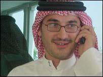 Media student Samir Marzouqi, 19