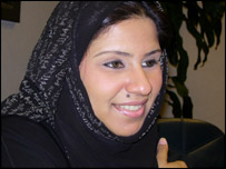Amna Hammadi, 22, UAE national and media graduate