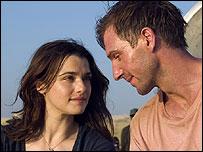 Rachel Weisz and Ralph Fiennes in Fernando Meirelles' The Constant Gardener