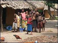 Villagers in the Niger Delta