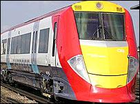 New-style Gatwick Express train