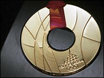 A Turin 2006 gold medal