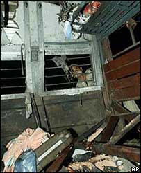 India train blast