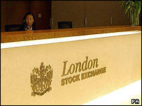 London Stock Exchange reception