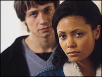 Oliver Milburn and Thandie Newton in In Your Dreams
