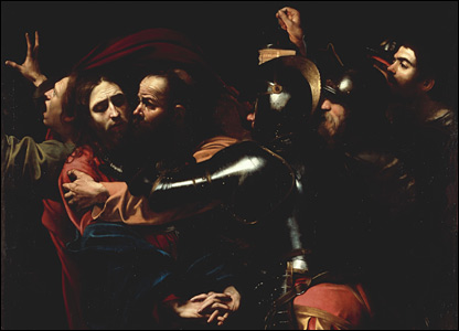 Caravaggio's The Betrayal of Christ