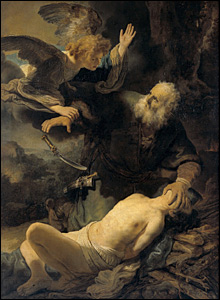 Rembrandt's The Sacrifice of Abraham