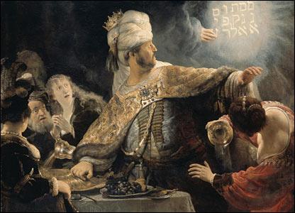Rembrandt's Belshazzar's Feast