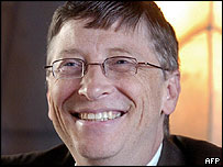 Image of Microsoft boss Bill Gates
