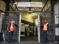 Edgware Road station opened for the first time since 7 July
