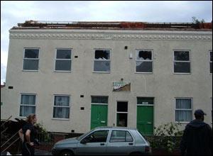 Damaged property