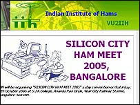 Indian Institute Of Hams website