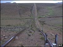 Gasoducto en Bolivia