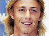 Real Madrid midfielder Guti