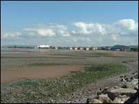 View looking across to Butlins