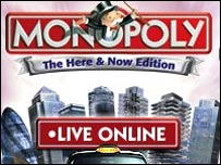 Monopoly Live website