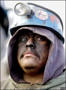 Miner at San Juan de Sabinas
