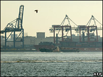 Red Hook Container Terminal, Brooklyn, New York