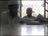 Foreign students at a Pakistan madrassa